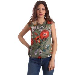 Textiel Dames Tops / Blousjes NeroGiardini P962570D Groen