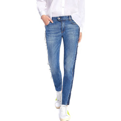 Textiel Dames Skinny jeans Byblos Blu 2WJ0004 TE0135 Blauw