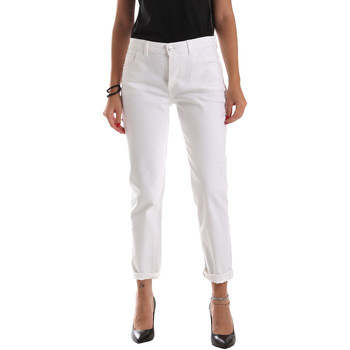 Textiel Dames Skinny jeans Byblos Blu 2WJ0011 TE0128 Wit