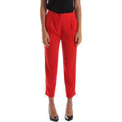 Textiel Dames Chino's Byblos Blu 2WP0002 TE0012 Rood