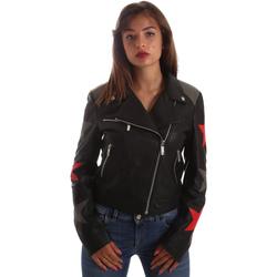 Textiel Dames Leren jas / kunstleren jas Byblos Blu 2WS0002 LE0007 Zwart
