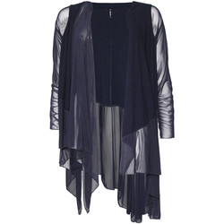 Textiel Dames Vesten / Cardigans Smash S1953411 Blauw