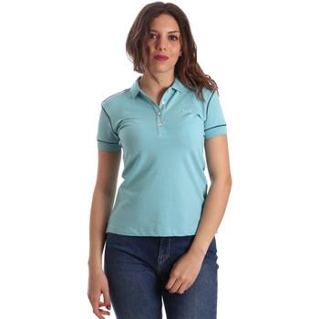 Textiel Dames Polo's korte mouwen La Martina NWP002 PK001 Blauw