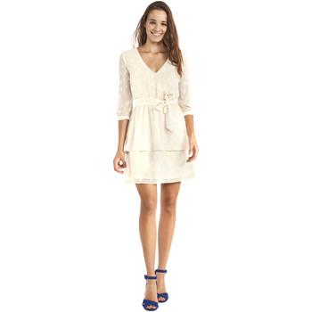 Textiel Dames Korte jurken Gaudi 911BD15005 Beige