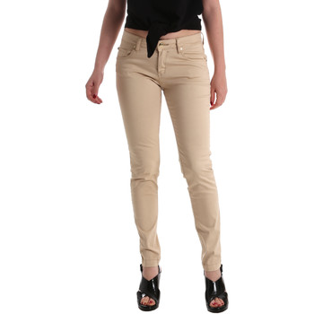 Textiel Dames Skinny Jeans Gaudi 911BD25010 Beige