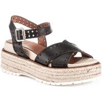 Schoenen Dames Sandalen / Open schoenen Lumberjack SW43706 004 B01 Zwart