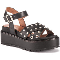 Schoenen Dames Sandalen / Open schoenen Lumberjack SW43706 004 Q12 Zwart