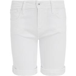 Textiel Dames Korte broeken / Bermuda's Pepe jeans PL800493TA2 Wit