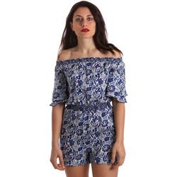 Textiel Dames Jumpsuites / Tuinbroeken Pepe jeans PL230259 Blauw