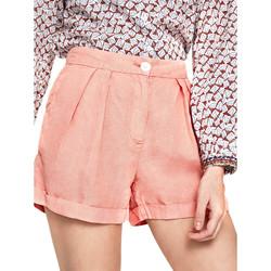 Textiel Dames Korte broeken / Bermuda's Pepe jeans PL800839 Oranje
