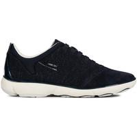 Schoenen Dames Lage sneakers Geox D621EC 0EW22 Blauw