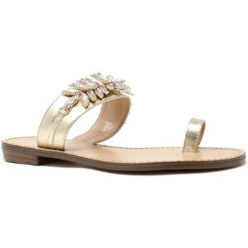 Schoenen Dames Teenslippers Gold&gold A19 GL303 Goud