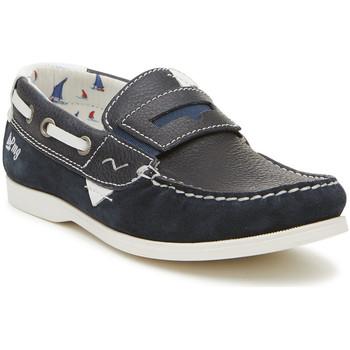 Schoenen Jongens Mocassins Primigi 3425600 Blauw