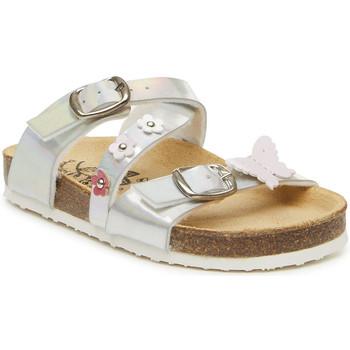 Schoenen Meisjes Leren slippers Primigi 3427100 Zilver
