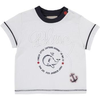 Textiel Kinderen T-shirts korte mouwen Chicco 09006679000000 Wit