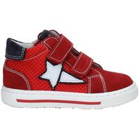 Schoenen Kinderen Hoge sneakers Nero Giardini P923450M Rood