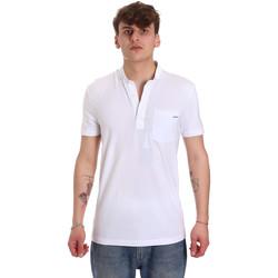 Textiel Heren Polo's korte mouwen Antony Morato MMKS01741 FA120022 Wit