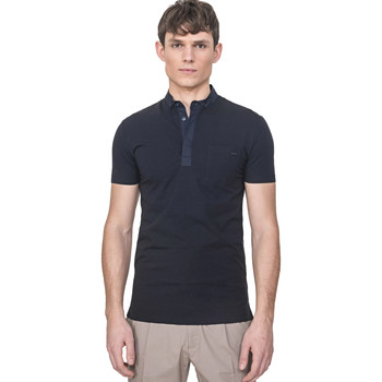 Textiel Heren Polo's korte mouwen Antony Morato MMKS01741 FA120022 Blauw
