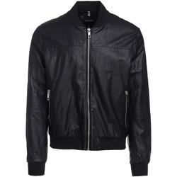 Textiel Heren Leren jas / kunstleren jas Antony Morato MMCO00616 FA210045 Zwart