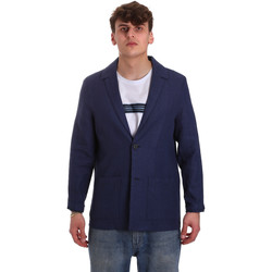 Textiel Heren Jasjes / Blazers Antony Morato MMJA00432 FA950158 Blauw