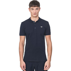 Textiel Heren Polo's korte mouwen Antony Morato MMKS01738 FA100083 Blauw