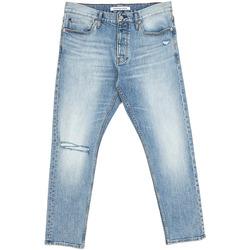 Textiel Heren Straight jeans Calvin Klein Jeans J30J312380 Blauw
