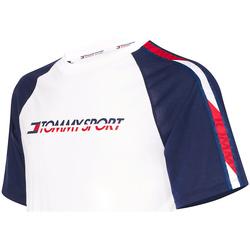 Textiel Heren T-shirts korte mouwen Tommy Hilfiger S20S200196 Wit