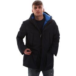 Textiel Heren Parka jassen U.S Polo Assn. 52338 52555 Blauw
