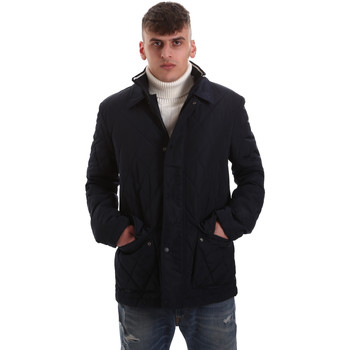Textiel Heren Dons gevoerde jassen Navigare NV65008 Blauw