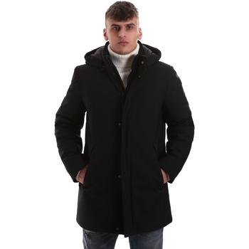 Textiel Heren Mantel jassen Navigare NV68081 Zwart