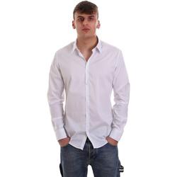 Textiel Heren Overhemden lange mouwen Gaudi 921FU45014 Wit