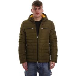 Textiel Heren Dons gevoerde jassen Gaudi 921BU35019 Groen