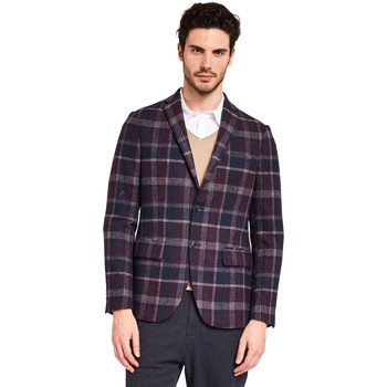 Textiel Heren Jasjes / Blazers Gaudi 921BU35029 Blauw