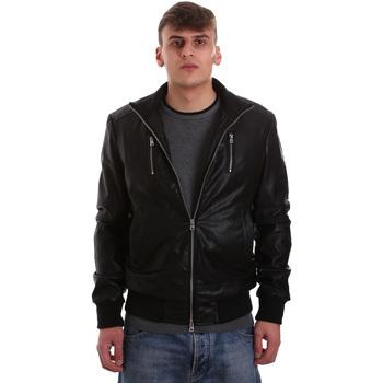 Textiel Heren Leren jas / kunstleren jas Gaudi 921BU38001 Zwart