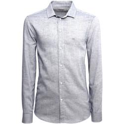 Textiel Heren Overhemden lange mouwen NeroGiardini A973180U Blauw