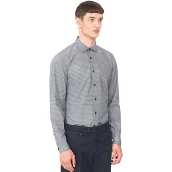 Textiel Heren Overhemden lange mouwen Antony Morato MMSL00548 FA430389 Blauw