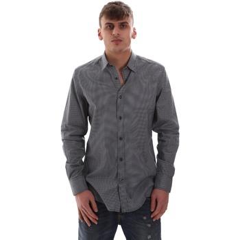 Textiel Heren Overhemden lange mouwen Antony Morato MMSL00574 FA430158 Blauw