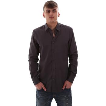 Textiel Heren Overhemden lange mouwen Antony Morato MMSL00574 FA430403 Grijs