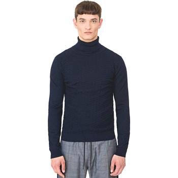 Textiel Heren Truien Antony Morato MMSW00977 YA200055 Blauw