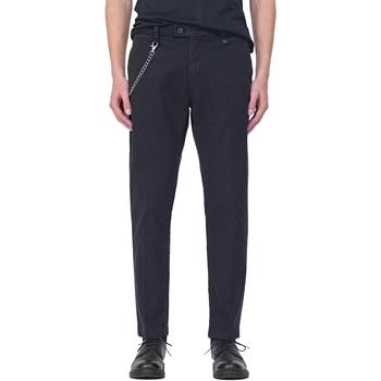 Textiel Heren Chino's Antony Morato MMTR00526 FA800094 Blauw