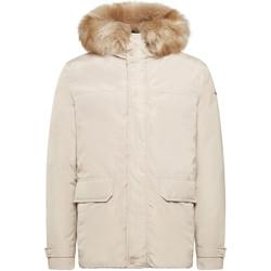 Textiel Heren Parka jassen Geox M9428E T2451 Beige