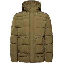Textiel Heren Dons gevoerde jassen Geox M9428C T2506 Groen
