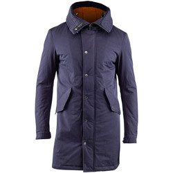 Textiel Heren Parka jassen Lumberjack CM37821 003 505 Blauw