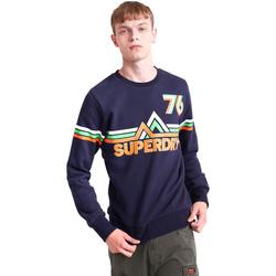 Textiel Heren Sweaters / Sweatshirts Superdry M2000012B Blauw