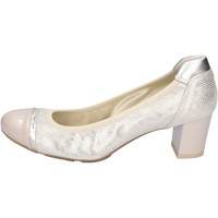 Schoenen Dames pumps Hogan Decollete Pelle Vernice Beige