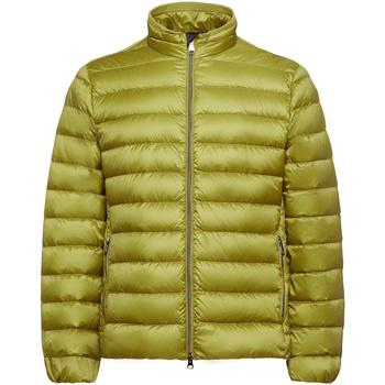 Textiel Heren Dons gevoerde jassen Geox M9425D T2562 Geel