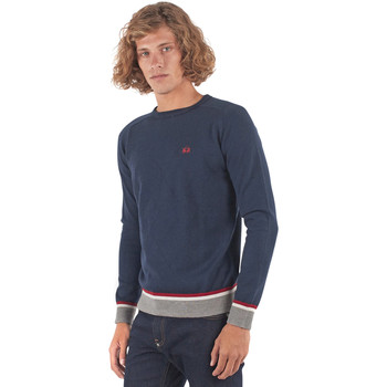 Textiel Heren Truien La Martina OMS021 YW025 Blauw