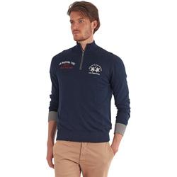 Textiel Heren Truien La Martina OMS317 YW025 Blauw