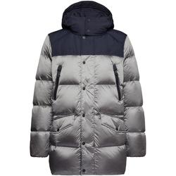 Textiel Heren Dons gevoerde jassen Geox M9425K TC129 Zilver