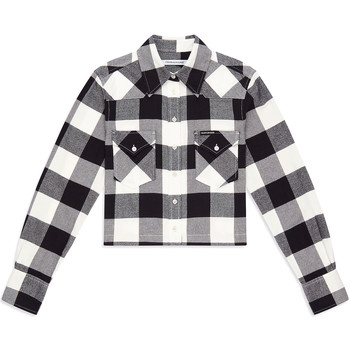 Textiel Dames Overhemden Calvin Klein Jeans J20J212123 Zwart